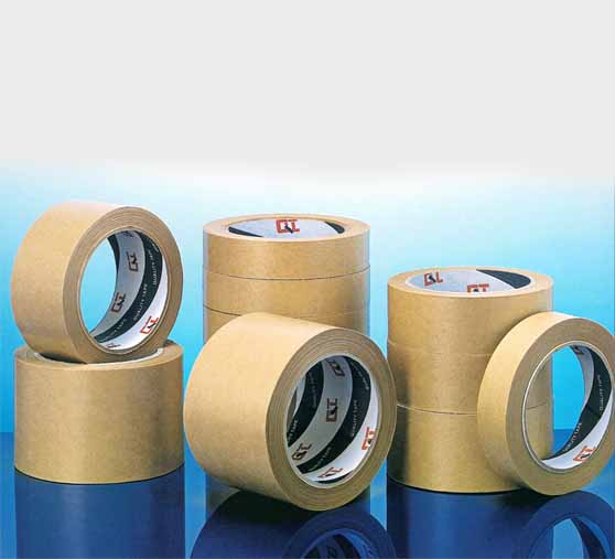 siliconised kraft paper tape